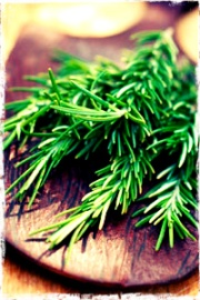 Rosemary has anti inflammatory properties