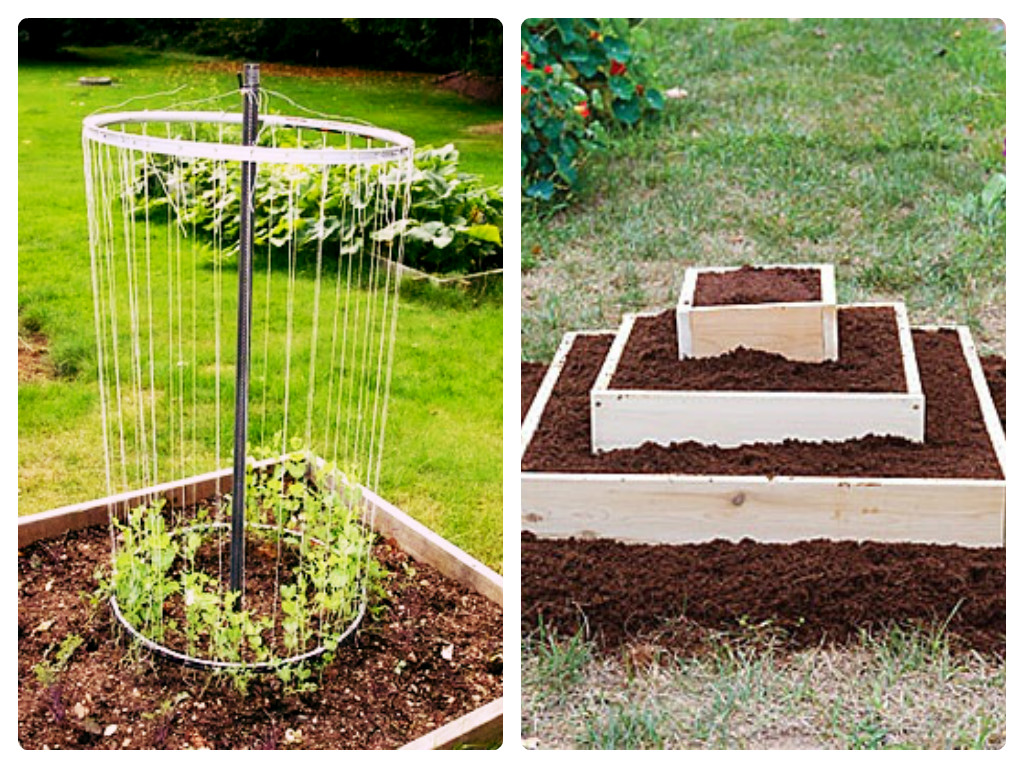 Cheap garden bed ideas photograph raised bed gardening for Garden bed ideas