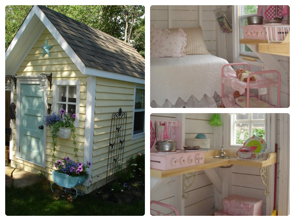Playhouse. This Garden Shed Is Really Cute ...