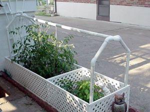 Self-Watering PVC Garden